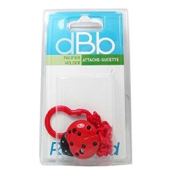ATTACHE SUCETTE COCCINELLE ROUGE DBB REMOND 170812