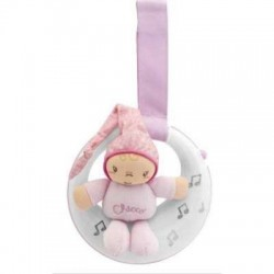 VEILLEUSE MUSICALE PETITE LUNE ROSE CHICCO