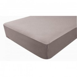DRAP HOUSSE IMPERMEABLE 60X120 TAUPE 1900009