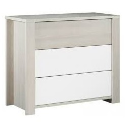 COMMODE 3 TIRROIRS OPAL SANS DECO SAUTHON KP162