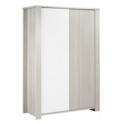 ARMOIRE 2 PORTES SANS DECORATIONS OPALE KP192