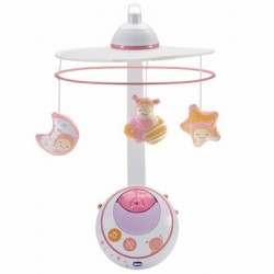 MOBILE DES REVES DOUBLE PROJECTION ROSE CHICCO