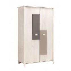 ARMOIRE 2 PORTES CHARLY GAUTHIER POC173