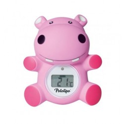 BEAR BATH THERMOMETER PINK VISIOMED G01102