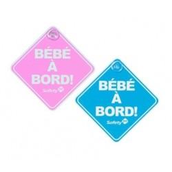 BEBE A BORD BLEU ROSE DOREL 33110045