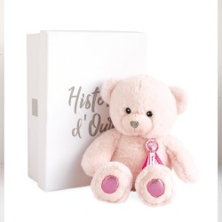 OURS SORBET ROSE 24CM CHARM HISTOIRE D OURS HO2806