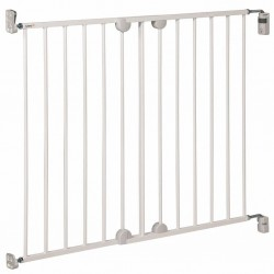 WALLFIX METAL EXTENDING GATE WHITE DOREL 2438431000
