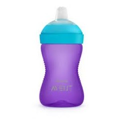 TASSE  A BEC SOUPLE 300ML GIRL AVENT SCF802/02