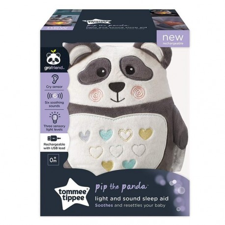 PELUCHE AIDE AU SOMMEIL RECHARGEABLE PIPPO PANDA