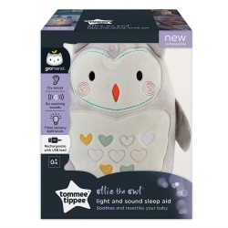 PELUCHE AIDE AU SOMMEIL RECHARGEABLE OLLIE CHOUETT