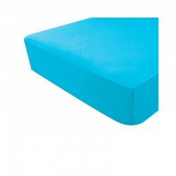 DRAP HOUSSE JERSEY TURQUOISE 60X120 POYETMOTTE 1900280