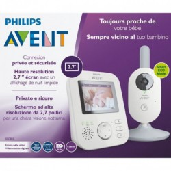 ECOUTE BEBE VIDEO GRIS AVENT SCD833/01