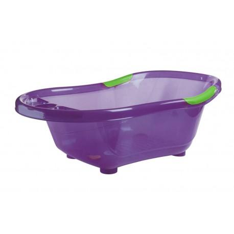 Baignoire Violette Translucide A Bouchon Dbb Remon Bebe 9 Noumea
