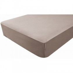 DRAP HOUSSE IMPER TAUPE 70X140 POYETMOTTE 1900016