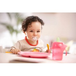 SOOTHER TRANSLUCENT BPA FREE 6 MOIS AVENT SCF170/2