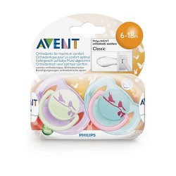 SOOTHER FASHION BPA FREE AVENT SCF172/22